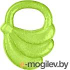 """Прорезыватель для зубов BabyOno Охлаждающий гелевый """"Банан"""" 1016 зеленый"""