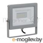 Прожектор светодиодный IEK СДО 07-50  50Вт 220В IP65 серый