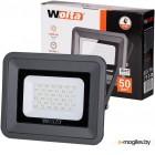 WOLTA WFL-50W/06  5500K 50 W SMD IP 65 цвет серый слим