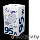 Лампа накаливания КОСМОС  А55 95Вт Е27 матовая