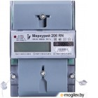 Счетчик электроэнергии ИНКОТЕКС МЕРКУРИЙ 206 RN  1ф 5-60А 1.0/2.0 класс точн. многотариф. (24)