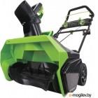 Снегоуборщик аккум. GREENWORKS 2600007  БЕЗ аккумулятора и зарядного устройства