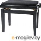 Банкетка для фортепиано Gewa Black matt / black seat Deluxe 130000