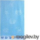 Полотенце Aquarelle Ракушки 70х140 (светло-васильковый)