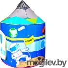 Детская игровая палатка Ching Ching Космический корабль CBH-17 (+ 100 шариков)