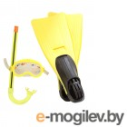 Все для плавания Набор маска  трубка  ласты Intex Junior Sport Set 55956