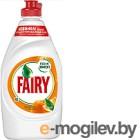 Средство для мытья посуды Fairy Окси. Апельсин и Лимонник (450мл)