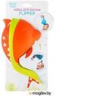 Ковшик для купания Roxy-Kids Flipper с лейкой оранжевый RBS-004-O