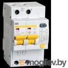 Выключатель автоматический дифференциального тока ИЭК 2п 16А/30мА  АД-12 MAD10-2-016-C-030 (5)
