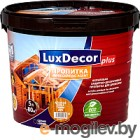 Пропитка для дерева Luxdecor plus 1,0л. ель (зеленый), РП