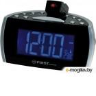 Часы-радио FIRST FA-2421-2 Black  1.8 LED FM кварц. память 2 будильника