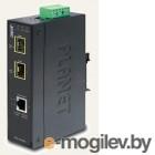 IGT-1205AT индустриальный медиа конвертер IP30 Industrial 10/100/1000T to 2-Port 100/1000X SFP Gigabit Media Converter (-40 to 75 degree C)