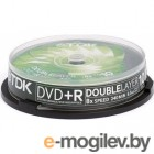 TDK DVD+R DL 8.5Gb 8x Cake Box 10�� t19924