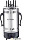 Электрошашлычница Endever Grillmaster 290 (серебристый/черный)
