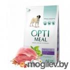 Optimeal 4 кг., сухой корм для взрослых собак малых пород - утка