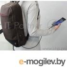 Рюкзак для ноутбука 15.6 Hama Manchester коричневый полиэстер (00101827)
