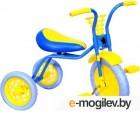 Детский велосипед Самокатыч Зубренок (голубой/желтый)