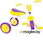 Детский велосипед Самокатыч Зубренок (фиолетовый/желтый)
