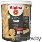 Лак Alpina Аква для паркета и полов (0.9л, шелковисто-матовый)