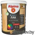 Лак Alpina Аква для стен и потолков (0.9л, шелковисто-матовый)