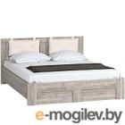 Двуспальная кровать Woodcraft Лофт 160 (боб пайн)