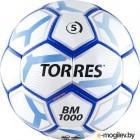 Футбольный мяч Torres BM 1000 F30625 (р-р 5, белый/серебристый/синий)