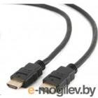 Gembird/Cablexpert, 0.5м, v1.4, 19M/19M black