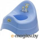 Детский горшок Maltex Жираф / 7552 (голубой)