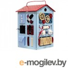 Деревянные игрушки Занятный Дом Бизиборд Лазурный 03-00000123