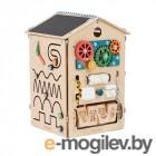 Деревянные игрушки Занятный Дом Бизиборд 00-00000001