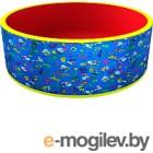 Игровой сухой бассейн Romana Веселая поляна ДМФ-МК-02.51.03 (синий/красный)