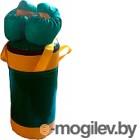 Набор для бокса детский KMS sport №2 (зеленый/желтый)