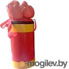 Набор для бокса детский KMS sport №2 (красный/желтый)