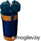 Набор для бокса детский KMS sport №2 (синий/желтый)