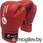 Боксерские перчатки RuscoSport 8oz (красный)