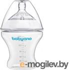 Бутылочка для кормления BabyOno Антиколиковая / 1450 (180мл)