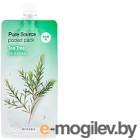 Маска для лица гелевая Missha Pure Source Pocket Pack Tea Tree ночная (10мл)