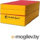 Гимнастический мат Perfetto Sport Складной №5 1x2x0.1м (красный/желтый)