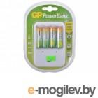 GP PowerBank 13 часов + аккум. 4шт. 1300mAh GP