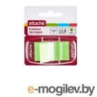 Стикеры Attache 25x45mm 25 листов Green 166082