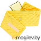 Гелевая грелка Happy Baby 21009 анти-коликовая с чехлом (желтый)