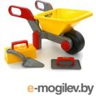 игрушки для песочниц ПолесьеТачка 4  Набор каменщика 2 42064