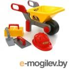 игрушки для песочниц ПолесьеТачка 4 Construct  Набор каменщика 3 Construct 50212