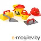 игрушки для песочниц ПолесьеНабор каменщика 5 Construct 50199
