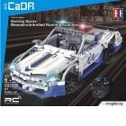 Конструктор управляемый CaDa Полицейский автомобиль / C51006W (на радиоуправлении)