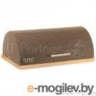 ZEIDAN Z-1100 Хлебница, корпус и крышка - высококачественный металл с покрытием Gravell, основание - каучуковое дерево, размер: 39х28.5х15 см, подарочная упаковка.