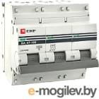 Выключатель автоматический EKF ВА 47-100 3P 100А (C) 10кА PROxima
