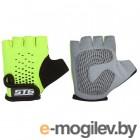 Перчатки велосипедные STG Х74367-С (S, зеленый/черный)