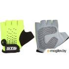 Перчатки велосипедные STG AL-03-511 / Х74367-М (M, зеленый/черный)