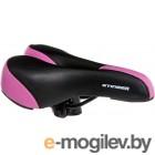 Сиденье велосипеда Stinger GW608А-1 / Р66583 (черный/розовый)